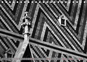 Dächer. Schutz, Gestaltung, Repräsentation (Tischkalender 2018 D
