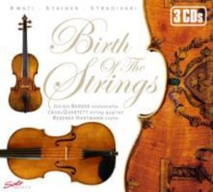 Berger/casalQuartett/Hartmann: Birth of the Strings