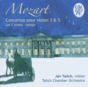 Concertos Pour Violon 3 & 5/+
