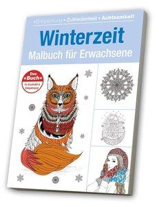 Winterzeit Malbuch für Erwachsene