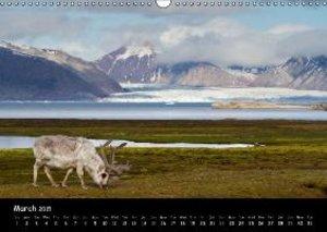 Svalbard / UK-Version (Wall Calendar 2015 DIN A3 Landscape)