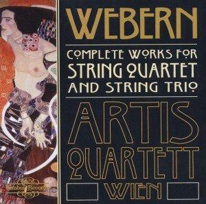 Webern String Quartet+Trios Cpl.