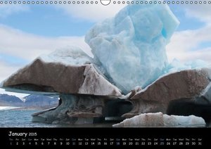 Svalbard / UK-Version (Wall Calendar 2015 DIN A3 Landscape)