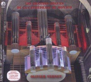 Die große Orgel der Kathedrale von Monaco