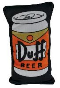 "The Simpsons - Wende-Kissen - ""Duff Bier"""