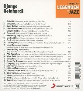 DIE ZEIT-Edition-Legenden d.Jazz:Django Reinhardt