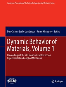 Dynamic Behavior of Materials 01