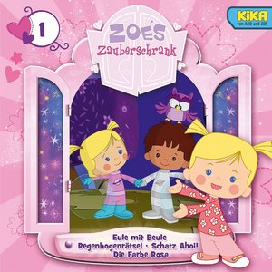 Zoes Zauberschrank 1: Eule/Regenbogenrätsel/Schatz Ahoi/Farbe Ro