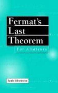 Fermat's Last Theorem for Amateurs