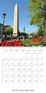 Istanbul Tulip Season (Wall Calendar 2015 300 × 300 mm Square)