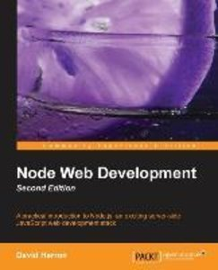 Node Web Development (2nd Edition)