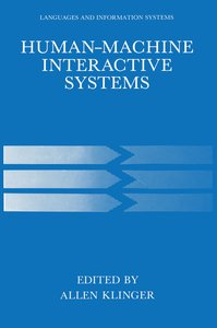 Human-Machine Interactive Systems