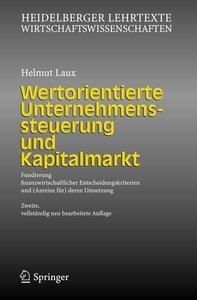 Wertorientierte Unternehmenssteuerung und Kapitalmarkt