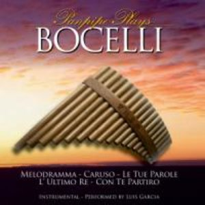 Panpipe Plays Bocelli
