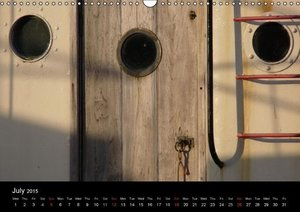 Harbour Stories / UK-Version (Wall Calendar 2015 DIN A3 Landscap