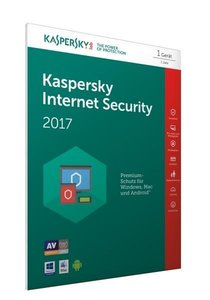 Kaspersky Internet Security 2017 (FFP) (Code in a Box)