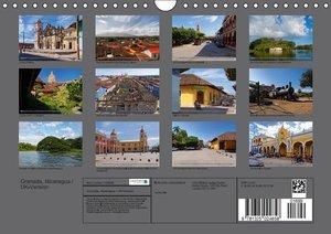 Granada, Nicaragua / UK-Version (Wall Calendar 2015 DIN A4 Lands