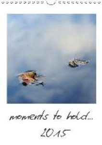 moments to hold... (Wall Calendar 2015 DIN A4 Portrait)