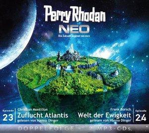 Perry Rodan NEO 23 - 24 Zuflucht Atlantis - Welt der Ewigkeit