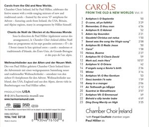 Carols From Old & New Worlds