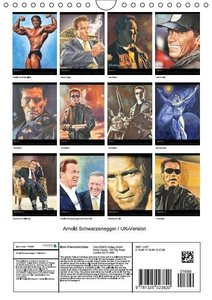 Arnold Schwarzenegger / UK-Version (Wall Calendar 2015 DIN A4 Po