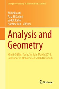 Analysis and Geometry