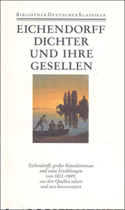 Erzählungen II. Dichter und ihre Gesellen