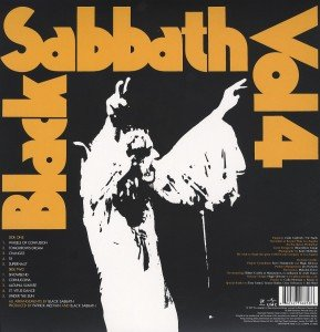 Black Sabbath Vol.4 (Vinyl)