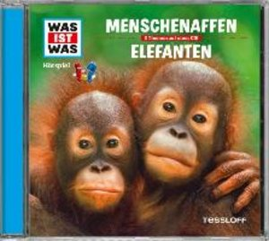 Was ist was Hörspiel-CD: Menschenaffen/Elefanten