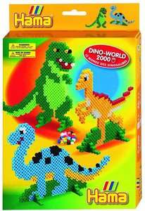 Hama 3410 - BEADS: Dino World 2000