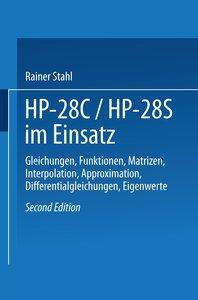 HP-28C / HP28S im Einsatz
