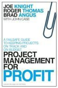 Project Management for Profit