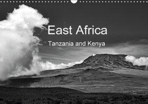East Africa - Tanzania and Kenya / UK-Version (Wall Calendar 20