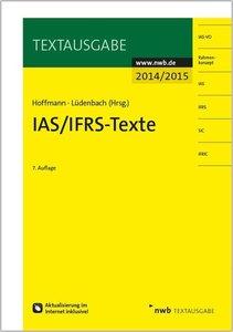 IAS/IFRS -Texte 2014/2015