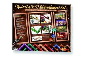 Zoch 605000510 - 3x Naturholzrahmen für Triptychon