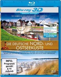 Die deutsche Nord-und Ostseeküste (3D)