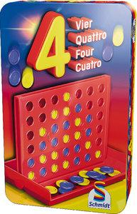 4 (Vier) in Metalldose