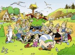 Asterix und sein Dorf. Puzzle 500 Teile