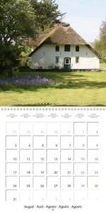 Amrum Island (Wall Calendar 2015 300 × 300 mm Square)