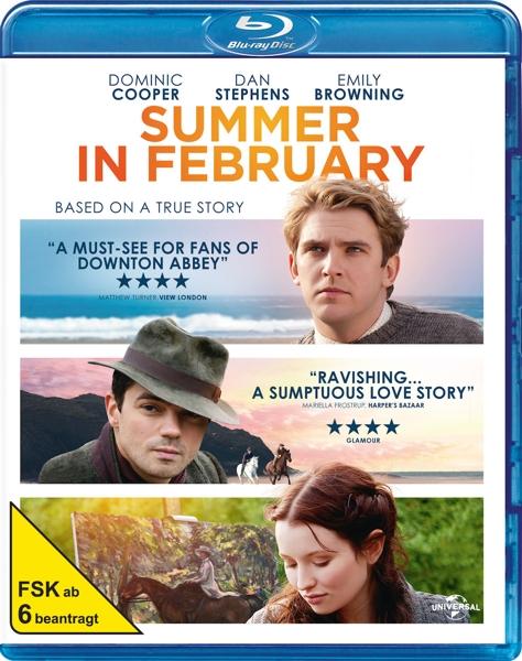 Sommer im Februar - zum Schließen ins Bild klicken