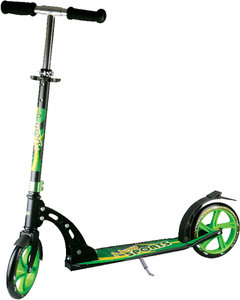 New Sports Scooter 205mm Green Pattern