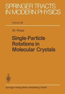 Single-Particle Rotations in Molecular Crystals