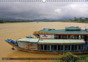VIETNAM - Land der Flüsse (Wandkalender 2016 DIN A3 quer)