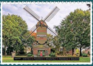 Die schönsten Windmühlen am Niederrhein