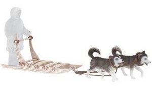 BULLYLAND 54550 - Inuitschlitten mit 2 Huskys