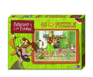 Pettersson Findus 48tlg. Puzzle Mucklas