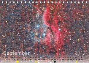 Deepsky 2017 (Tischkalender 2017 DIN A5 quer)