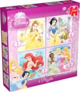 Princess 4in1 Puzzle - 4/6/9/16 Teile