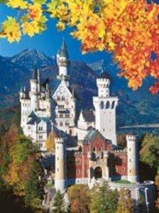 Neuschwanstein in Autumn 1500 PC Puzzle