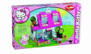 BIG 800057010 - Hello Kitty: Play-BIG-Bloxx Villa